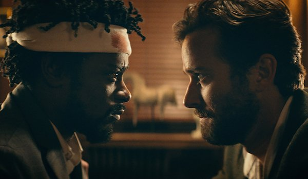 Cassius confronting his boss in Sorry to Bother You