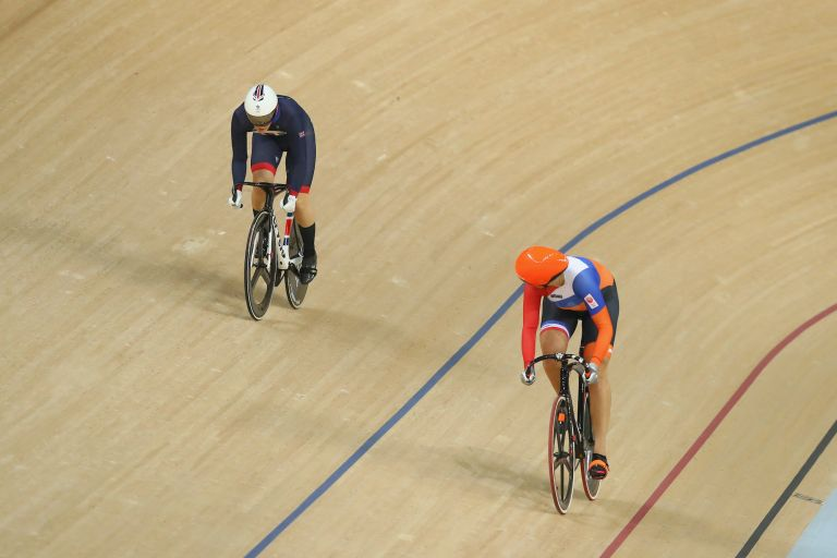 The women's track sprint at the Rio 2016 Olympic Games