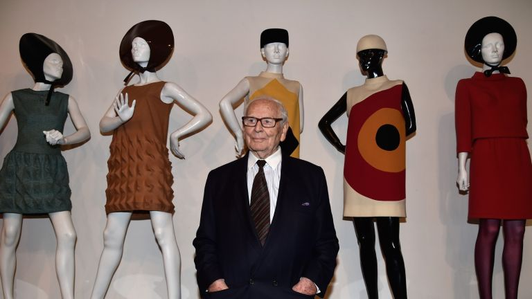 Pierre Cardin attends an Opening Cocktail at Musee Pierre Cardin on November 13, 2014 in Paris, France.