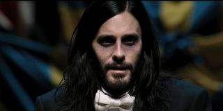 Morbius Jared Leto at an event in a tuxedo