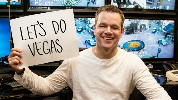 Matt Damon for Omaze