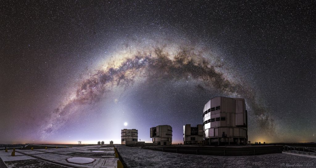 MIlky Way and the VLT