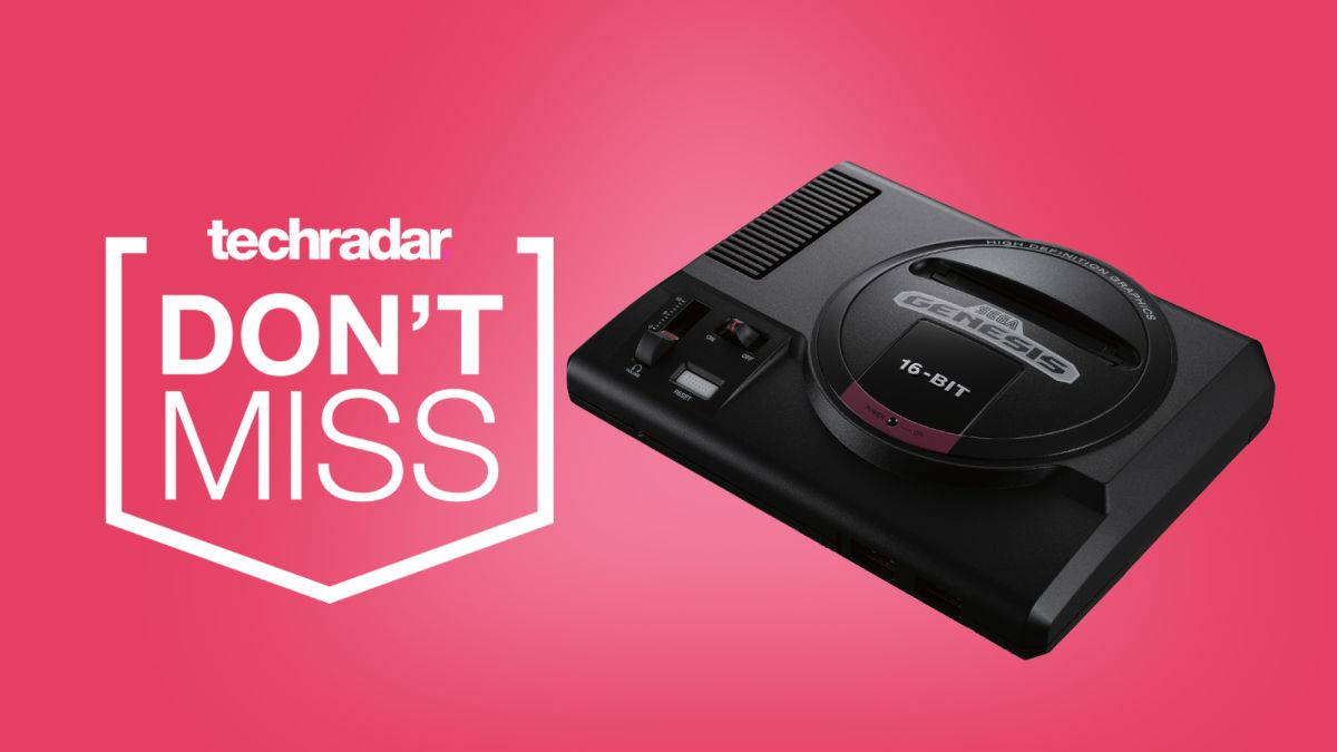 Sega Genesis Mini is still incredibly cheap ahead of Cyber Monday – but get it while you can