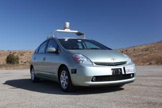Prius, automated car, driverless car