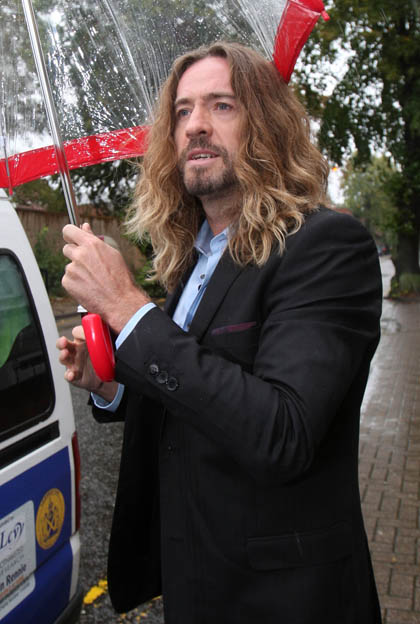 Court hears recording of Justin Lee Collins 'rant'