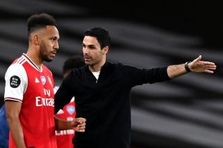 Mikel Arteta was unable to call on captain Pierre-Emerick Aubameyang last week after he tested positive for Covid.