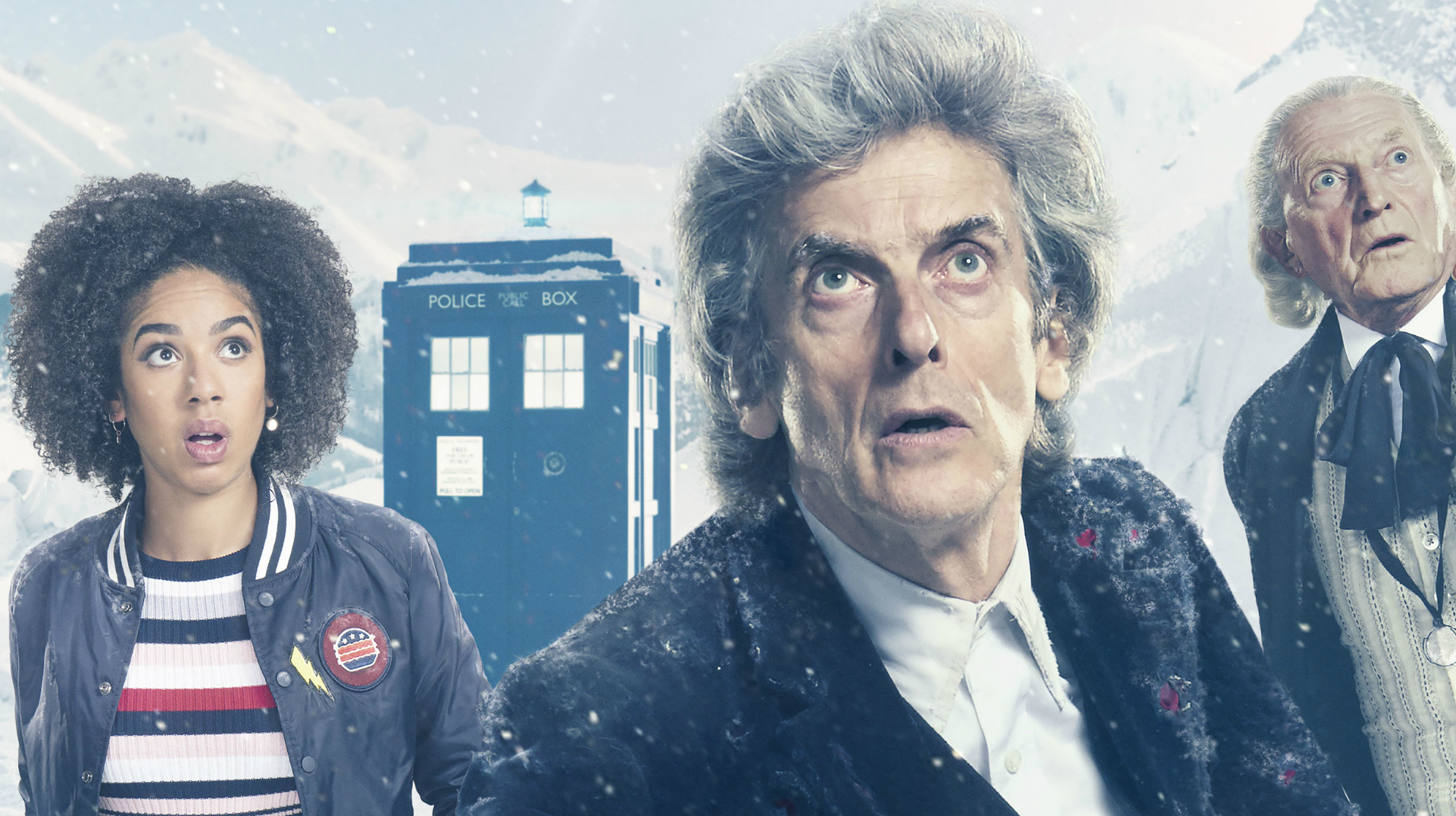 Twice Upon A Christmas Doctor Who.Peter Capaldi S Last And Jodie Whittaker S First