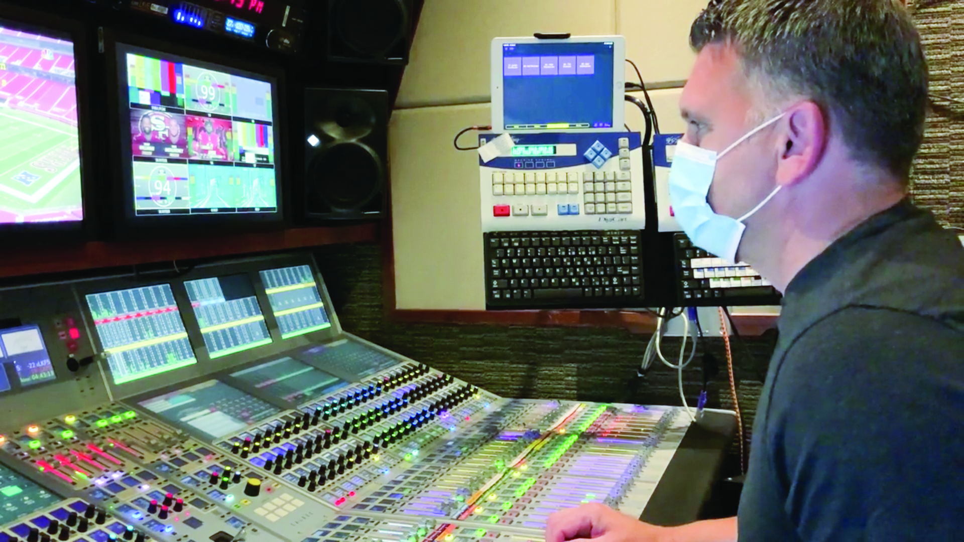 NBC Sports audio mixing