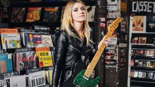 Laura-Mary Carter spikes full-blooded Marshall power with boutique Fender vibes