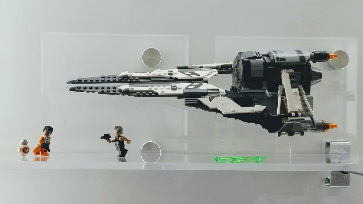 LEGO STAR WARS CUSTOM ENDOR LUKE SKYWALKER MINIFIGURE MADE OF LEGO PARTS