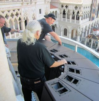 Venetian Clock Tower Gets Animated With L-ACOUSTICS