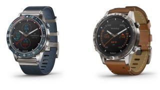 The Garmin MARQ Captain (left) and Expedition (right). Image credit: Garmin