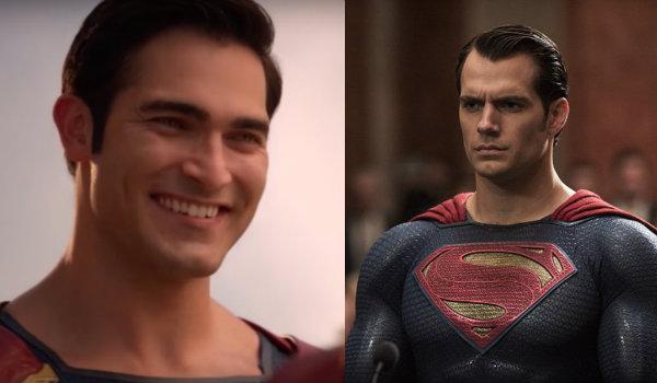 Superman Tyler Hoechlin Henry Cavill