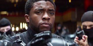 Captain America Civil War Black Panther Unmasking