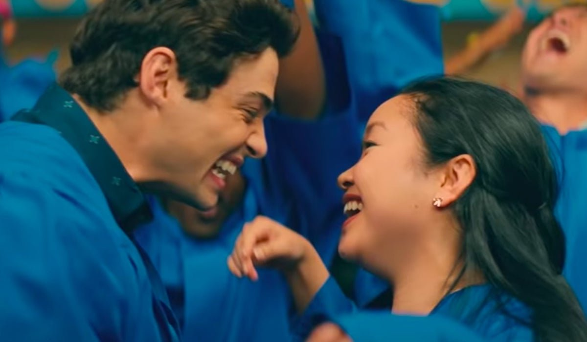 Peter Kavinsky and Lara Jean graduate in All the Boys: Always and Forever