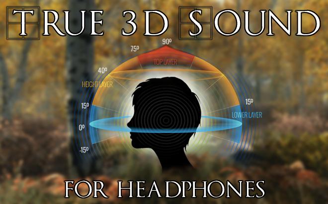 Мод Skyrim Special Edition - 3D-звук для наушников