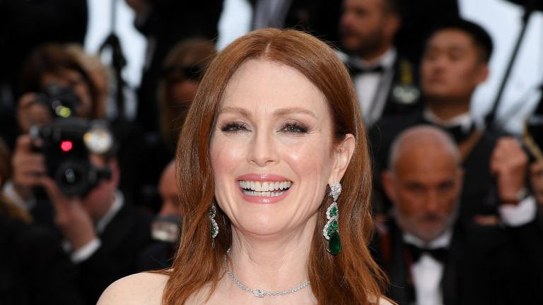 """Julianne Moore, wearing Chopard jewels attends the opening ceremony and screening of """"The Dead Don't Die"""" during the 72nd annual Cannes Film Festival on May 14, 2019 in Cannes, France"""