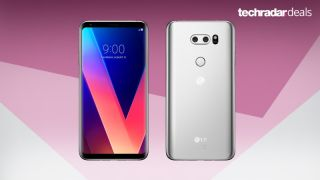LG V30 front and back see the best deals and prices here