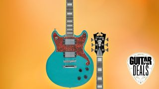 Guitar Center takes on Amazon with $320 off the D'Angelico Premier Series Brighton, today only!