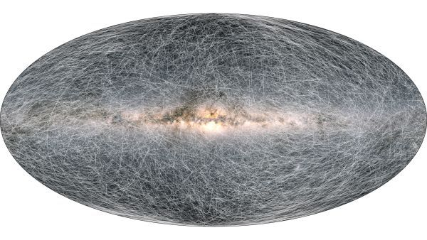 Most accurate map of our galaxy pinpoints 1.8 billion cosmic objects
