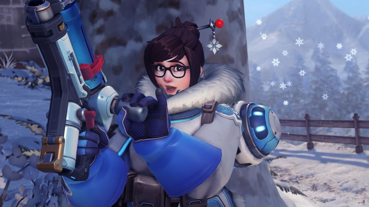 Overwatch Winter Wonderland 2020.Overwatch Winter Wonderland Returns With An All Mei Snowball
