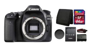 Black Friday DSLR deal: Save $390 on Canon EOS 80D + free accessory bundle