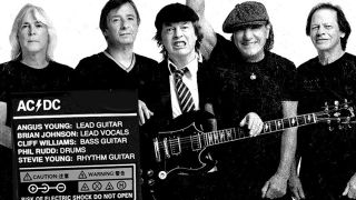 Brian Johnson, Cliff Williams and Phil Rudd are officially back in AC/DC
