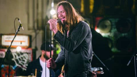 While She Sleeps live at St Pancras Old Church, London
