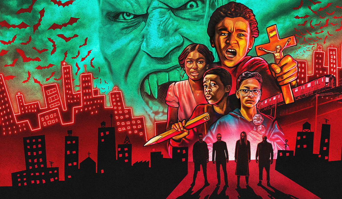 Vampire vs. the Bronx Netflix movie poster