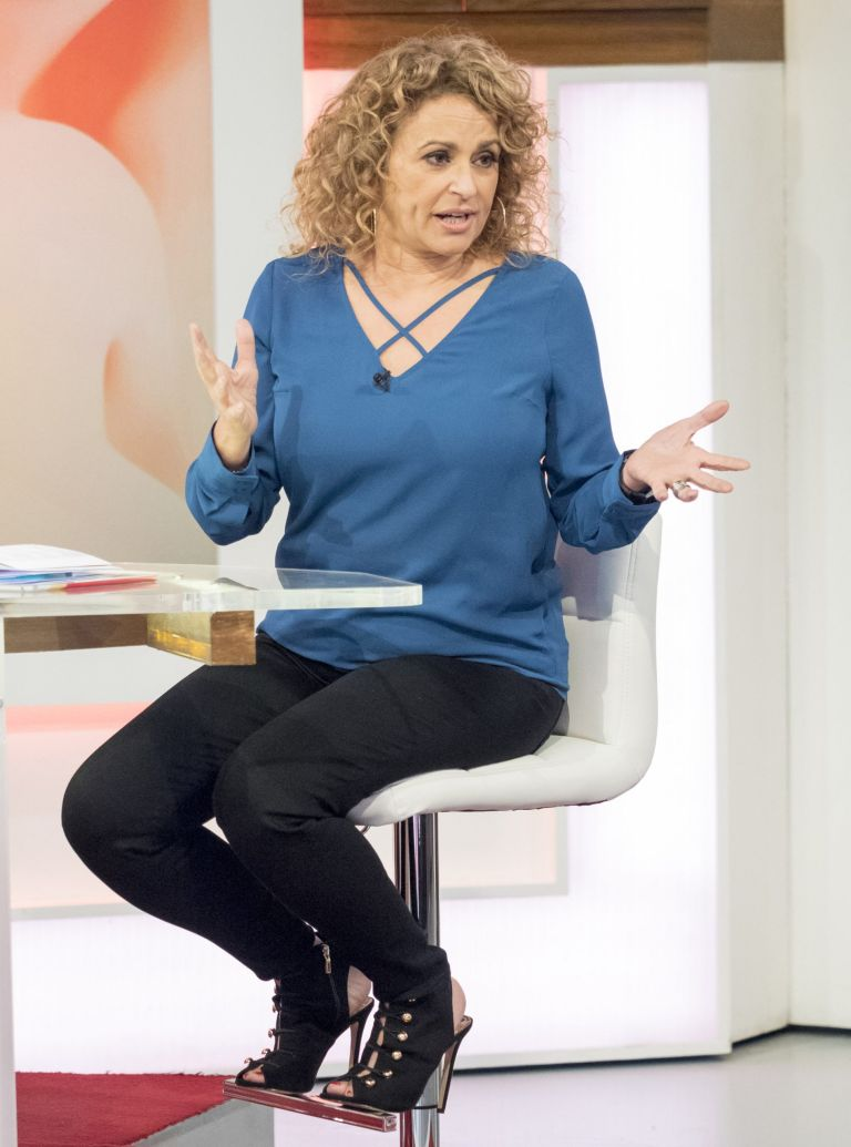nadia-sawalha-george-larry-lamb