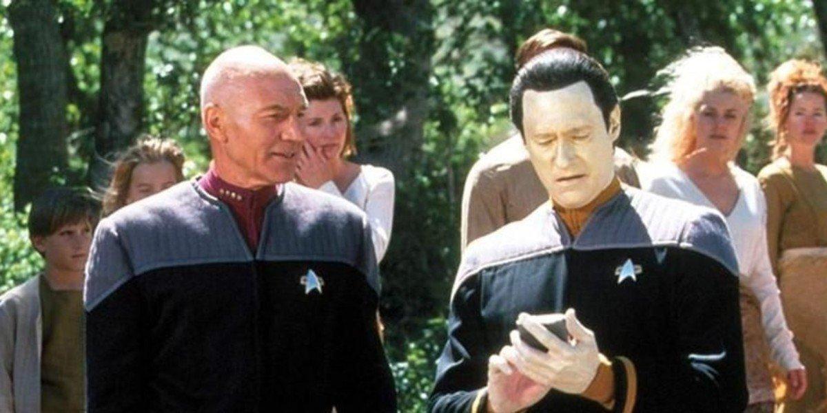 Patrick Stewart, Brent Spiner - Star Trek: Insurrection