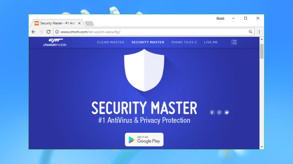 f15dec4c83a Security Master: Antivirus, VPN, AppLock, Booster review | TechRadar