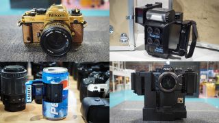 A Nikon covered in spikes, a Pepsi can camera, a quad-lens Polaroid…here are the 10 weirdest cameras at The Photography Show!