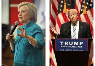 Hillary Clinton, and Donald Trump.