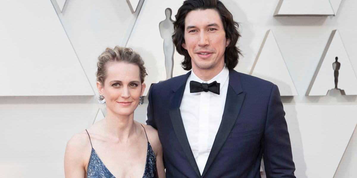 Adam Driver and Wife Joanne Tucker at 2019 Oscars