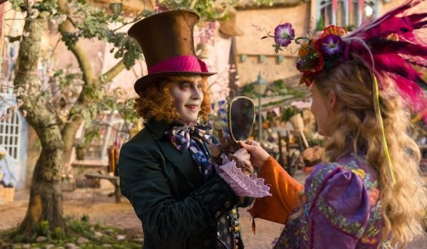 Alice Through the Looking Glass Johnny Depp hat