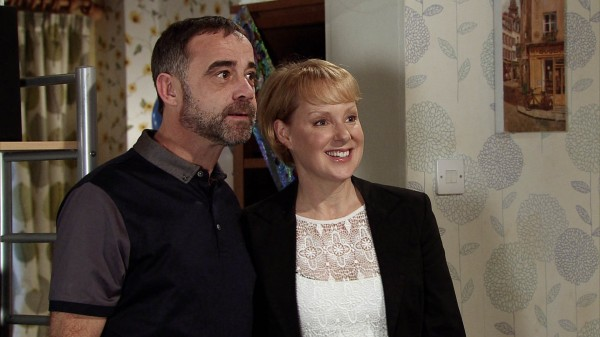 Corrie's Kevin and Sally are still friends (ITV)