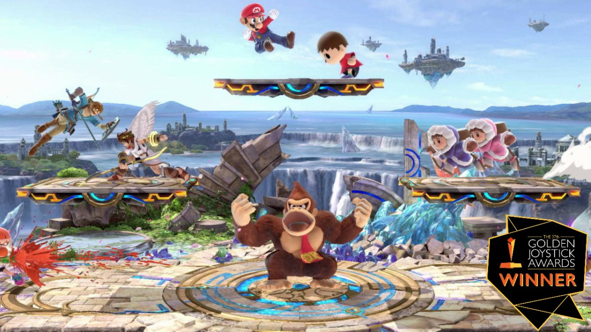 Super Smash Bros. Ultimate wins Nintendo Game of the Year at the 2019 Golden Joystick Awards