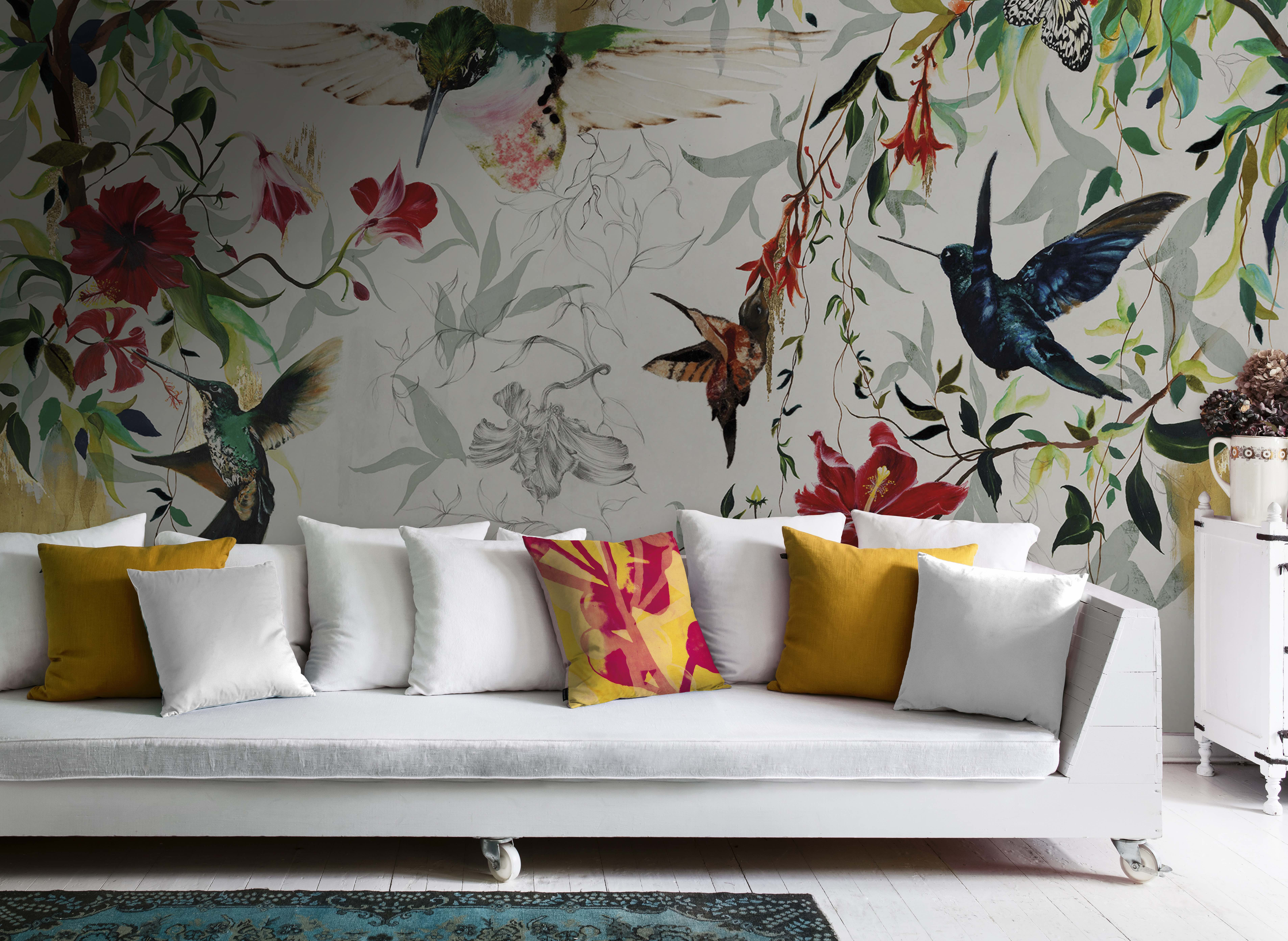 Botanical Statement Walls The Fastest Growing Interiors Trend