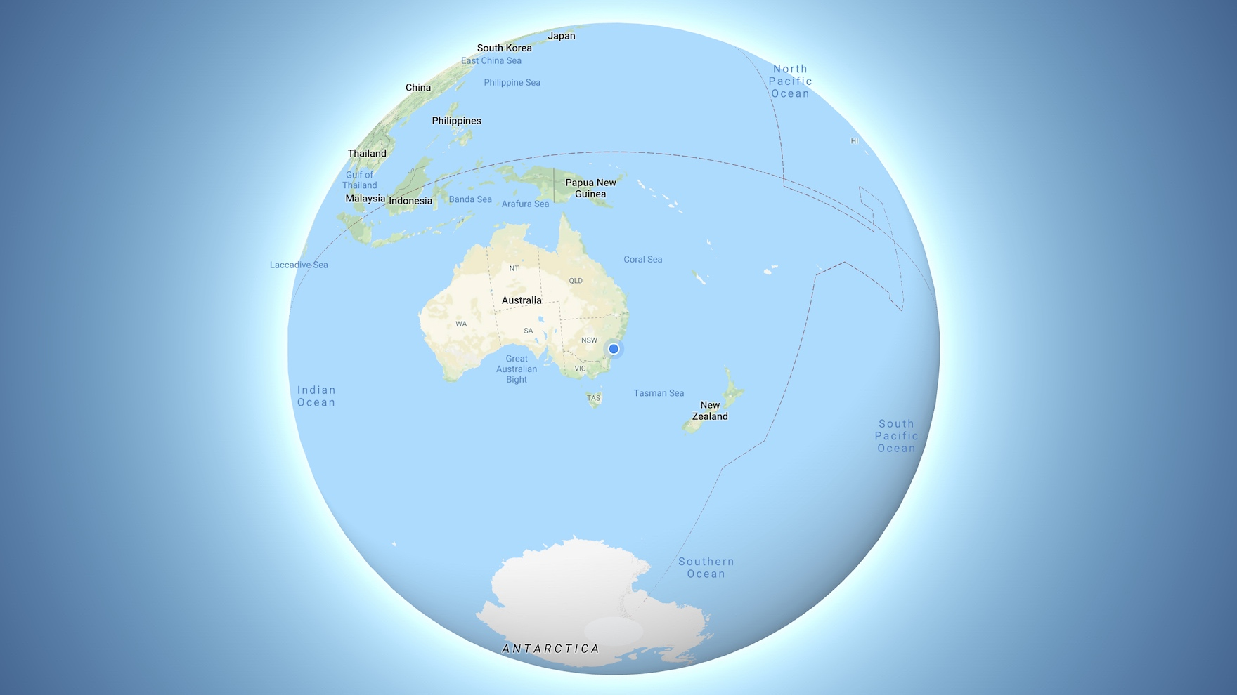 Google Maps on desktop now shows the Earth as a 3D globe | TechRadar