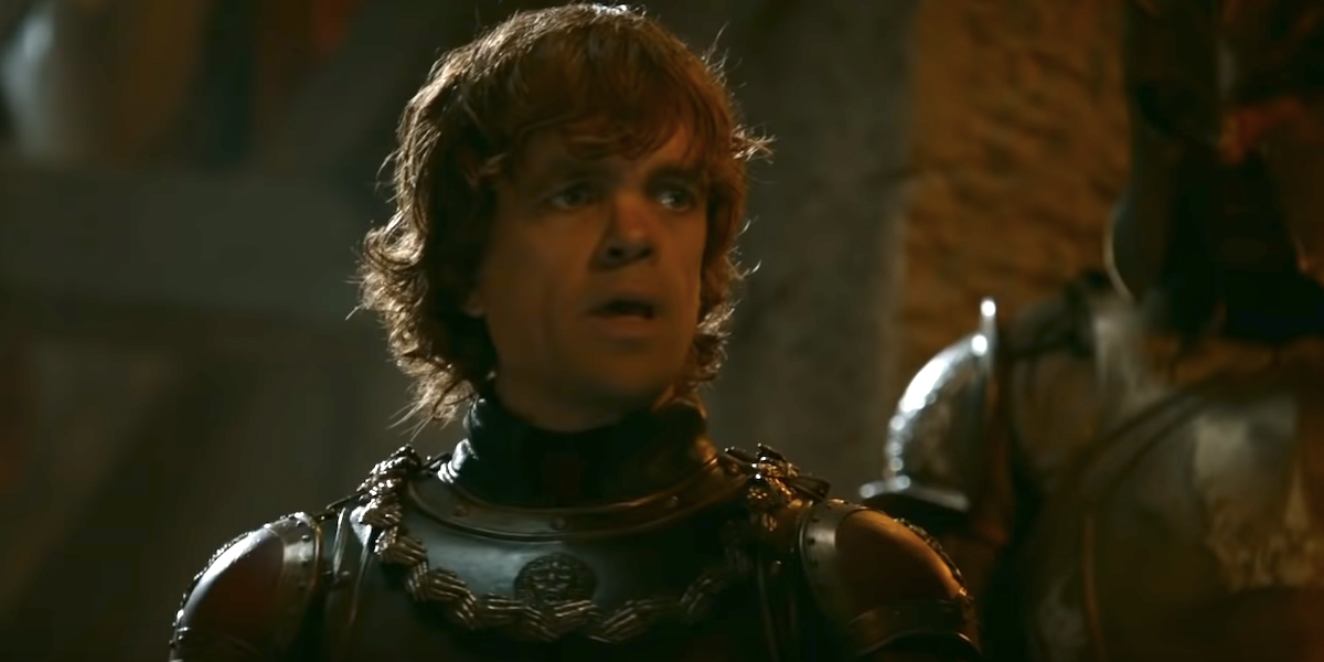 tyrion peter dinklage battle of blackwater game of thrones hbo