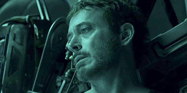 Tony Stark in space in Avengers: Endgame trailer, Marvel Studios