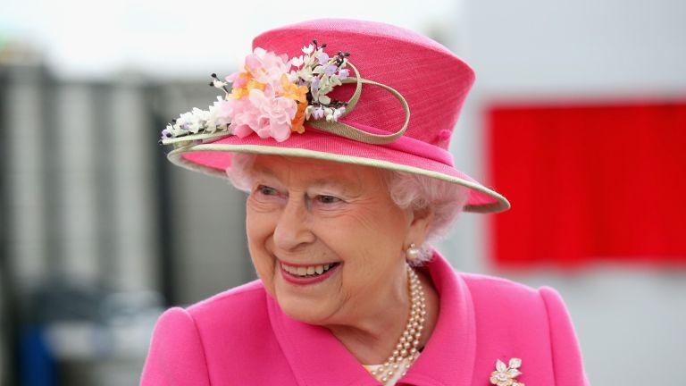 Queen Elizabeth II arrives at the Queen Elizabeth II delivery office in Windsor with Prince Philip, Duke of Edinburgh on April 20, 2016 in Windsor, England