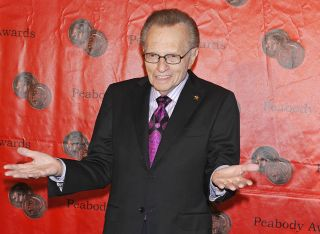 Larry King at 2011 Peabody Awards