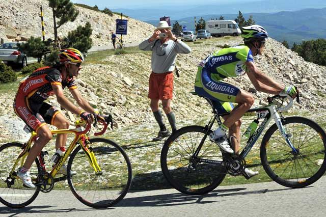 Sylvester Szymd Alejandro Valverde Dauphine Libere 2009 stage 5
