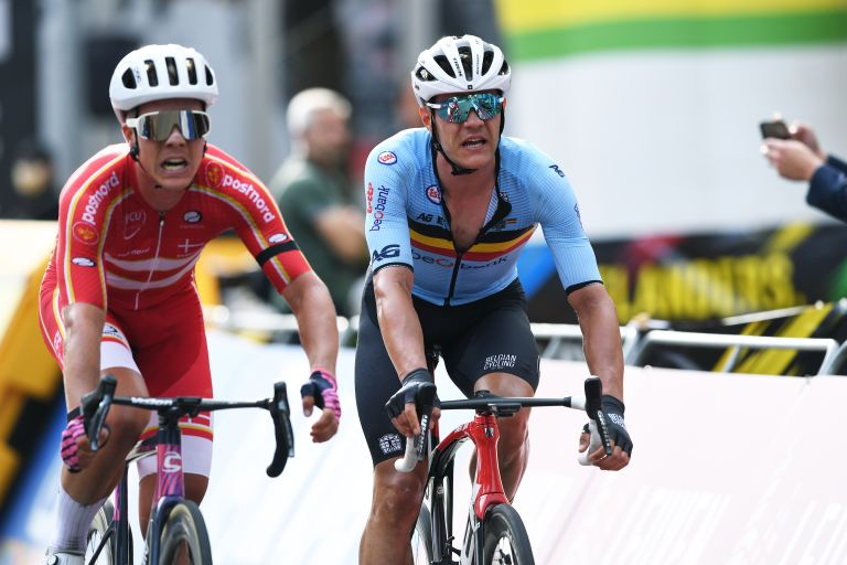 Jasper Stuyven finishing fourth at the World Championships in hometown of Leuven