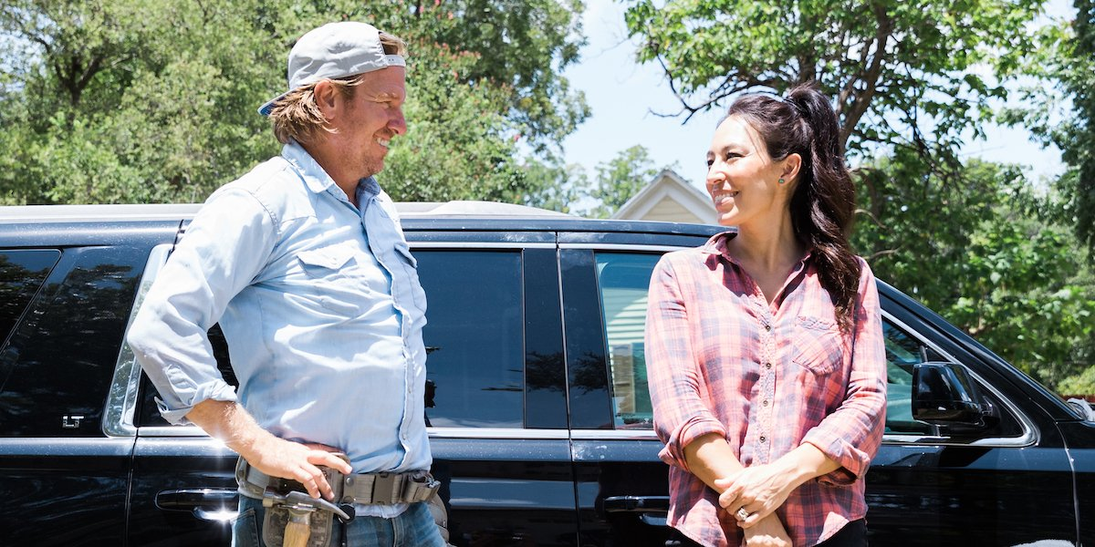chip and joanna gaines outdoors fixer upper