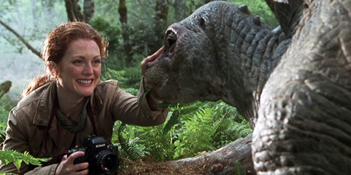 Julianne Moore in The Lost World
