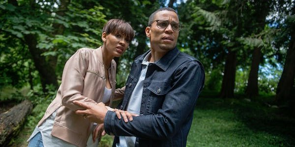Michael Ealy, Meagan Good in The Intruder