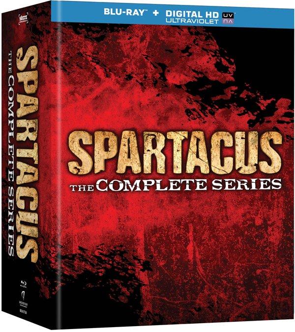 Spartacus:The Complete Series box